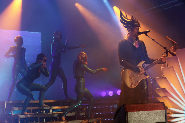 Pics: Empire of the Sun, New Politics Rock Out at Bud Light Hotel Tourney Party