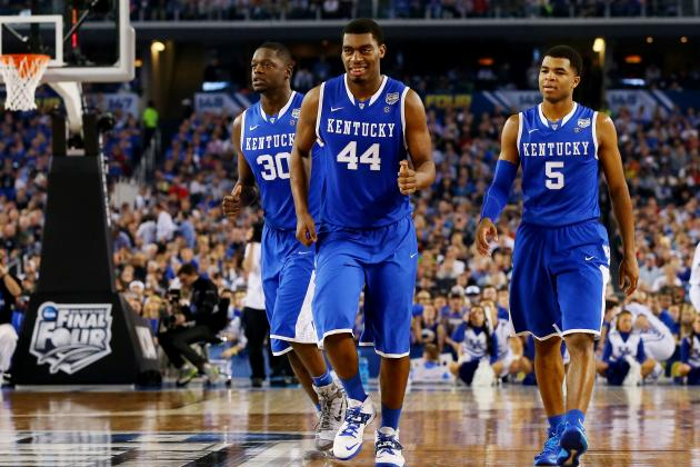 Kentucky Basketball: Final 2013-14 Grades After National Title Game Loss