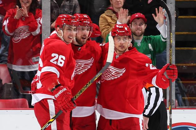 Detroit Red Wings' Top 5 Breakout Performers of the 2013-14 NHL Season