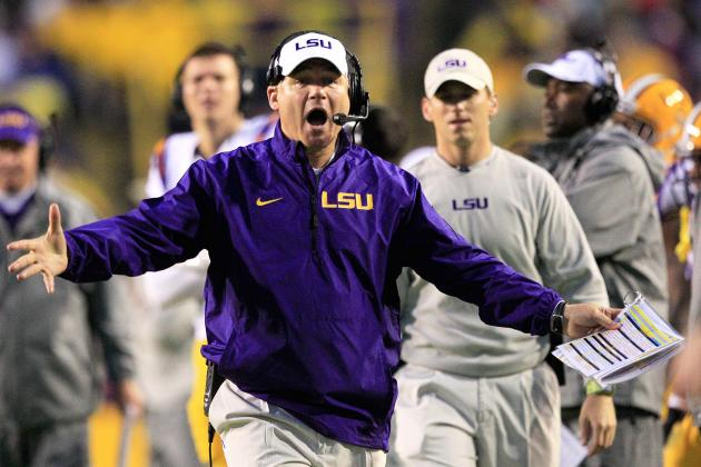 LSU Football: Les Miles' 5 Biggest Concerns Post-Spring Practice