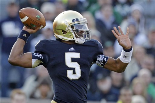 Notre Dame Football: Comparing Everett Golson and Malik Zaire