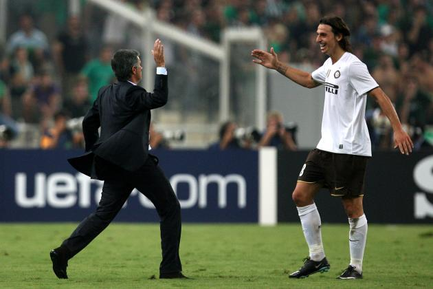 Zlatan Ibrahimovic and 5 Other Players Who Love Jose Mourinho