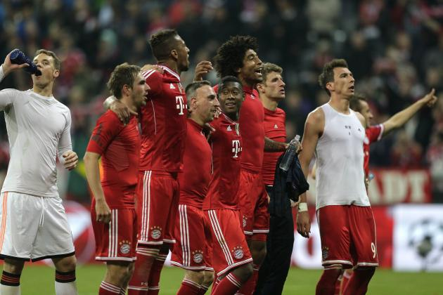 6 Things We Learned from Champions League Last 8: Bayern Still the Team to Beat