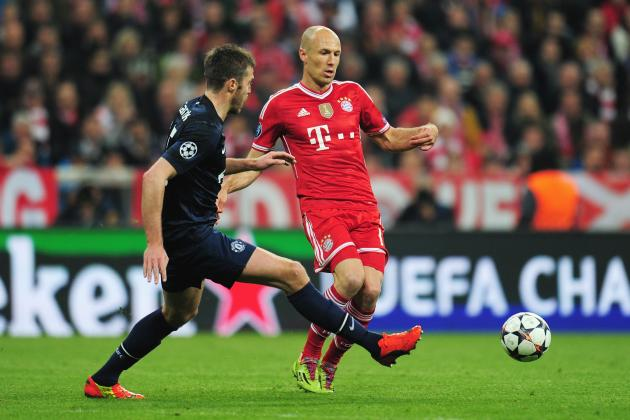 Champions League Team of the Week: Arjen Robben, Koke, Toni Kroos