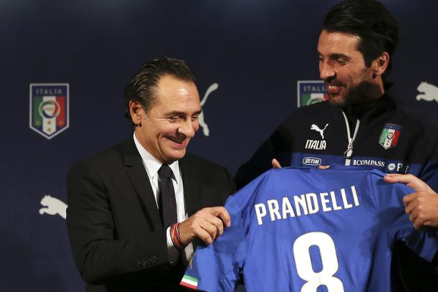 Predicting the Italy Squad 60 Days from the 2014 World Cup