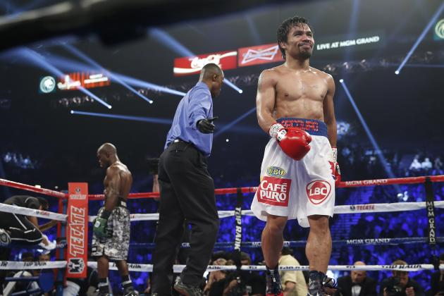 Manny Pacquiao vs. Timothy Bradley Results: Round-by-Round Analysis and Recap