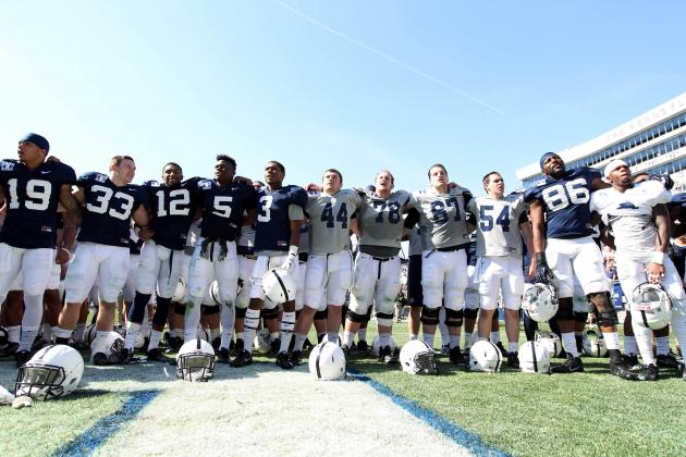 Penn State Football: Top Performers from the Nittany Lions' Spring Game