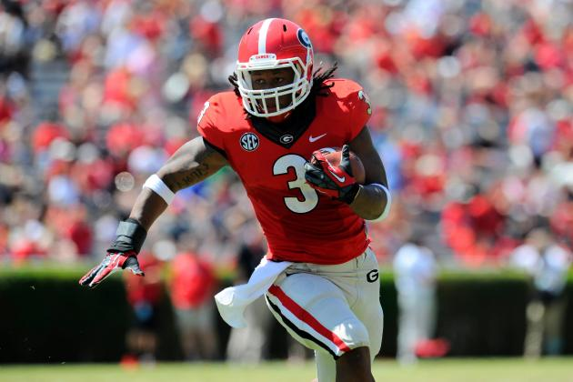 Grading UGA's Post-Spring Depth Chart