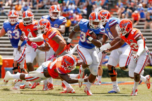 Florida Football: Top Performers from the Gators Spring Game