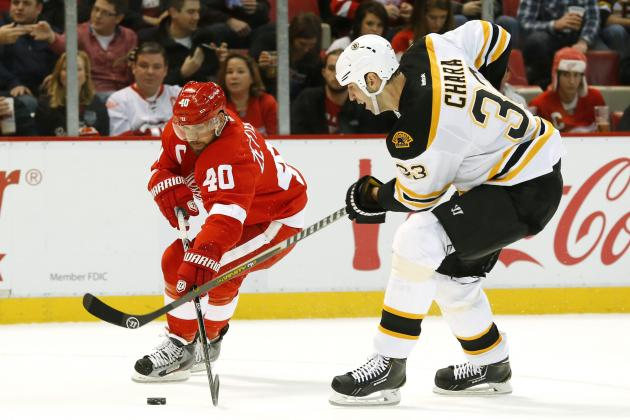 Detroit Red Wings' 5 Biggest Questions in Playoff Series vs. Boston Bruins