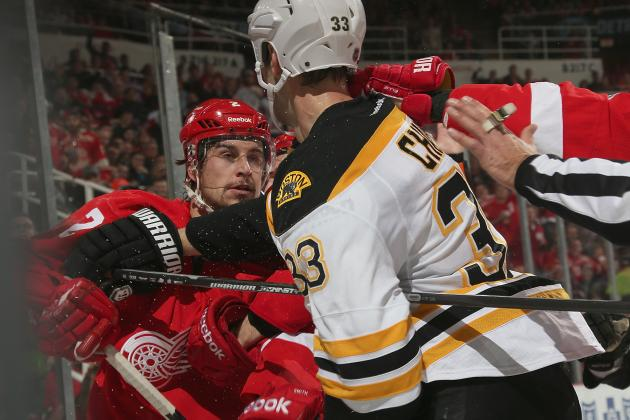 Red Wings vs. Bruins: Preview and Prediction for NHL Playoffs 2014 Matchup