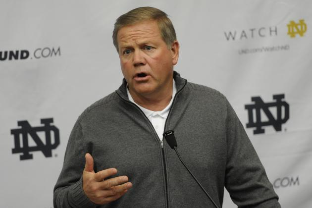 Notre Dame Football: Brian Kelly's 4 Biggest Concerns Post-Spring Practice