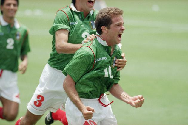 Ranking Mexico's 20 Best World Cup Goals