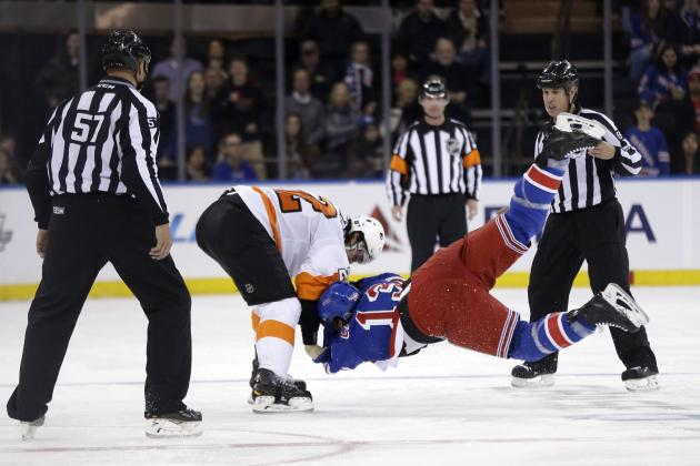 Flyers vs. Rangers: Preview and Prediction for NHL Playoffs 2014 Matchup