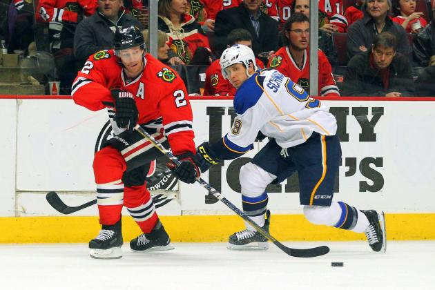 Chicago Blackhawks vs. St. Louis Blues: 5 Key Storylines to Follow in the Series