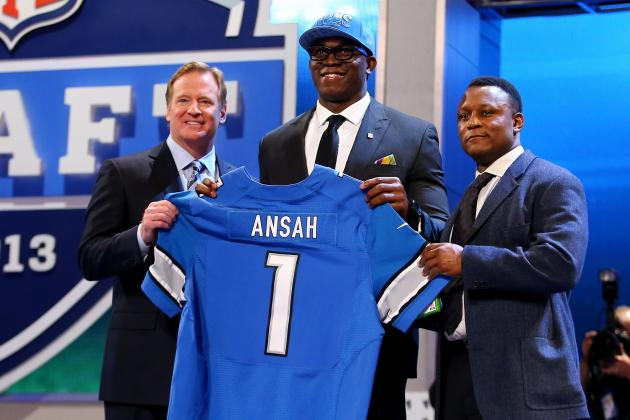 Assigning Odds to Every Potential Detroit Lions 1st Round Pick