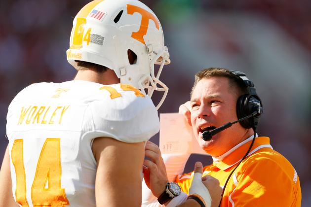 Tennessee Football: Butch Jones' Biggest Concerns Post-Spring Practice