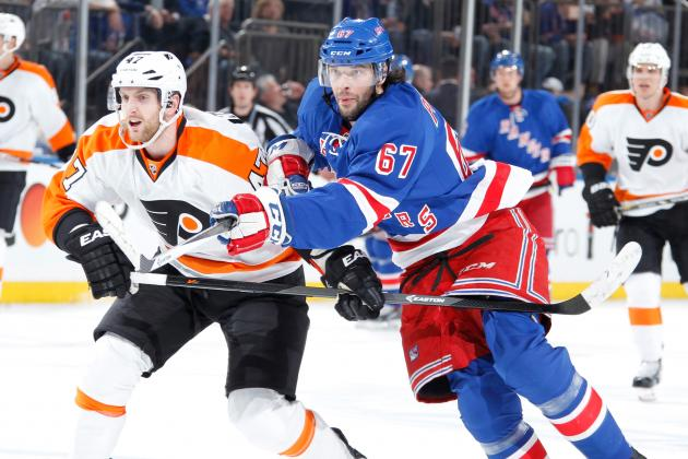 5 Crucial X-Factors for Philadelphia Flyers vs. New York Rangers