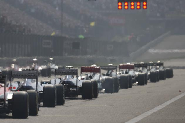 Chinese Grand Prix 2014 Preview: Start Time, TV Info, Weather, Schedule, Odds