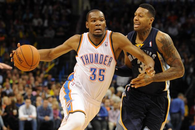 NBA Picks: Memphis Grizzlies vs. Oklahoma City Thunder, Game 1