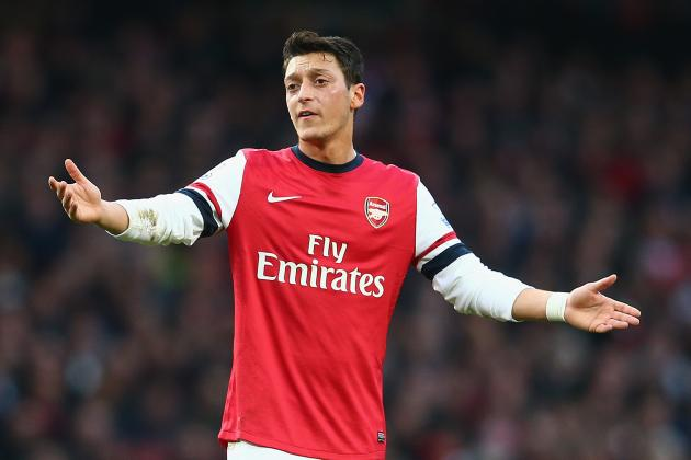 Mesut Ozil and 20 Underwhelming Premier League Performers This Season