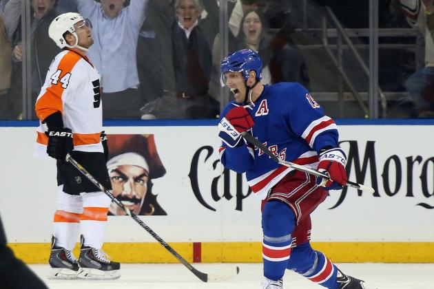 Breaking Down What New York Rangers Did Right in Game 1 vs. Philadelphia Flyers
