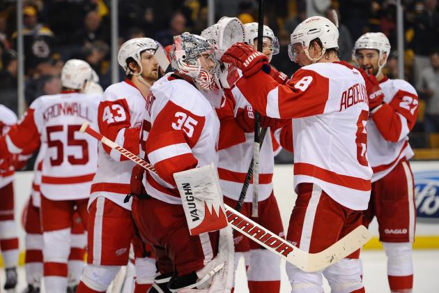 Detroit Red Wings' Blueprint to a Deep Run in 2014 Stanley Cup Playoffs