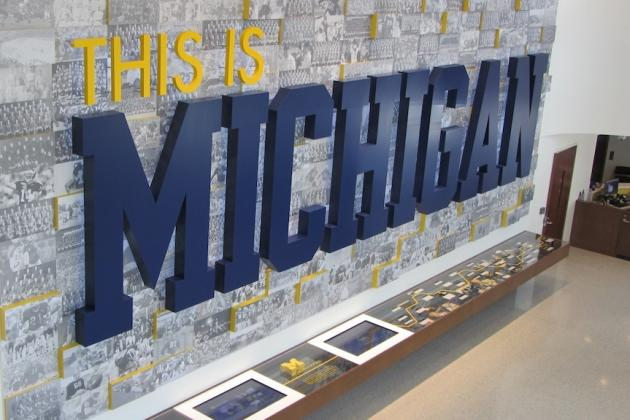 Michigan Football: Exclusive Tour of $9 Million Renovation to Schembechler Hall