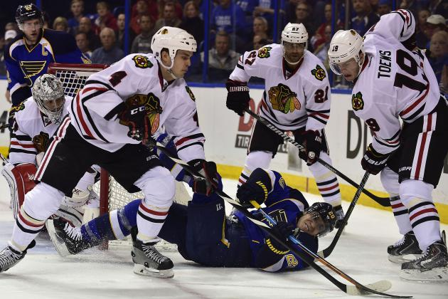 Chicago Blackhawks: 5 Keys to Evening Up the Series vs. St. Louis Blues