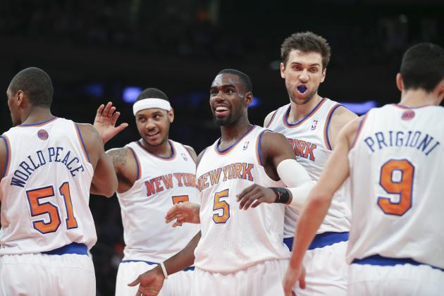 Final Regular-Season Grades for Every NY Knicks Player