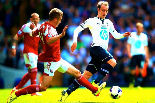 Tottenham Hotspur vs. Fulham: Christian Eriksen Bails Tim Sherwood out Again