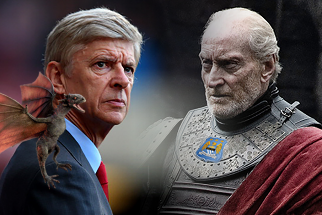 Premier League Teams as Game of Thrones Houses