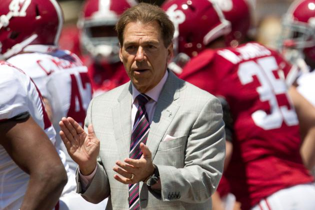 Alabama Football: Top Performers from the Crimson Tide's Spring Game