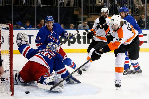 Breaking Down What New York Rangers Did Wrong in Game 2 vs. Philadelphia Flyers