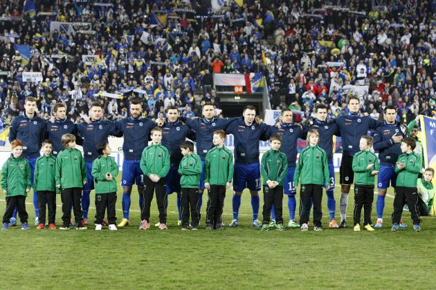 Predicting Bosnia-Herzegovina's Starting XI at the World Cup