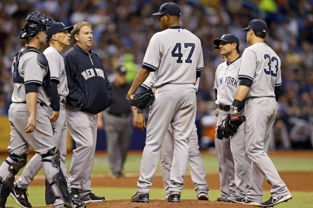 Top Long-Term Ivan Nova Replacement Options for the New York Yankees
