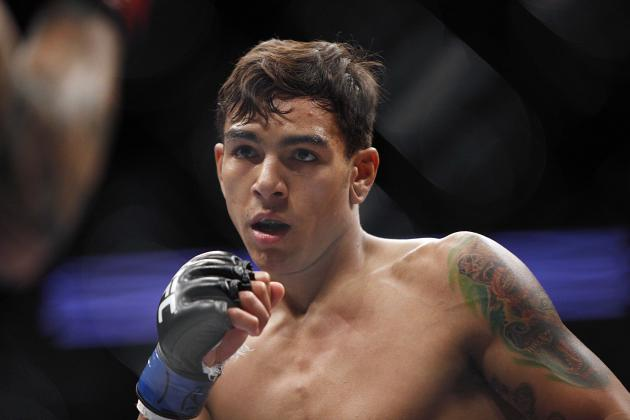 Andre 'Touchy' Fili and the Best Nicknames in the UFC Right Now