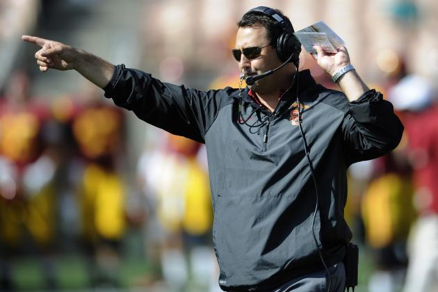 USC Football: Steve Sarkisian's Biggest Concerns Post-Spring Practice