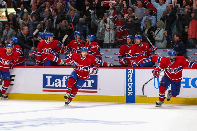 Grades for Montreal Canadiens' Top Stars in 1st Round of NHL Playoffs