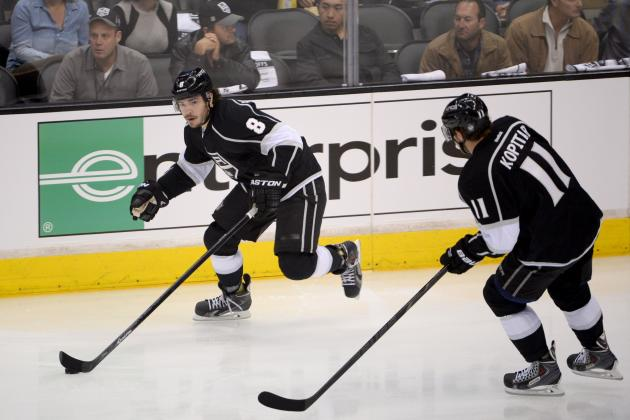 Early Grades for Los Angeles Kings' Top Stars in 1st Round of NHL Playoffs