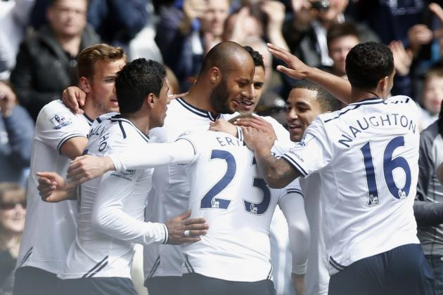 Premier League: How Tottenham Hotspur Will Line Up Against Stoke City
