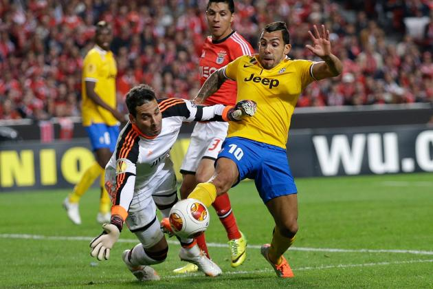 Benfica vs. Juventus: 6 Things We Learned