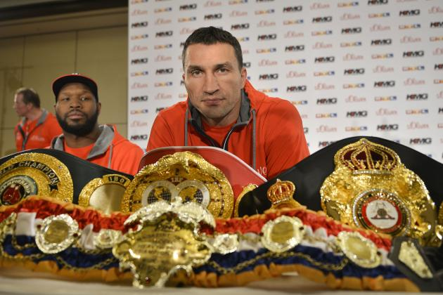 Ranking the Best Options for Wladimir Klitschko's Next Fight