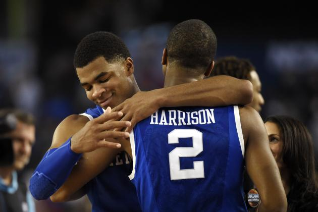 Kentucky Basketball: Projecting UK's 2014-15 Rotation with Harrisons Returning