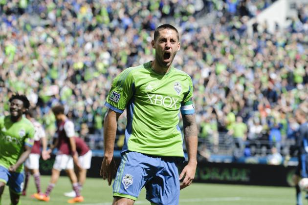 MLS Team of the Week: Dempsey Leads Group of Impressive Forwards