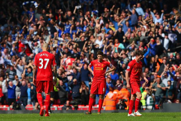 Liverpool 0-2 Chelsea: 5 Underperformers for Brendan Rodgers' Reds