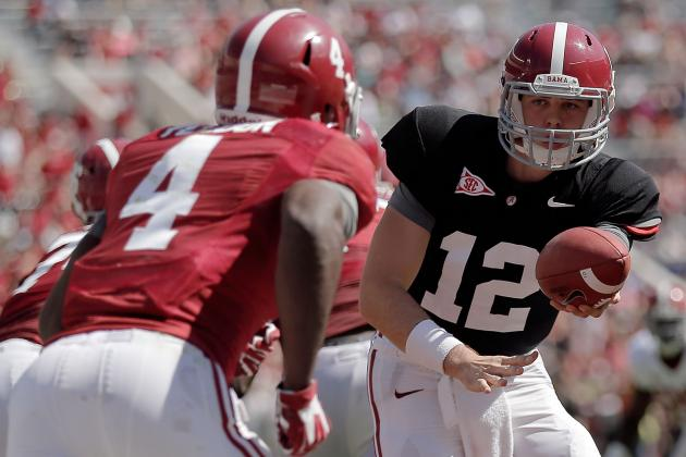 Alabama Football: Final Winners and Losers from Spring Ball