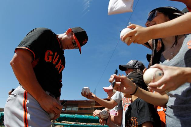 Stock Up, Stock Down for San Francisco Giants' Top 10 Prospects Entering Week 5