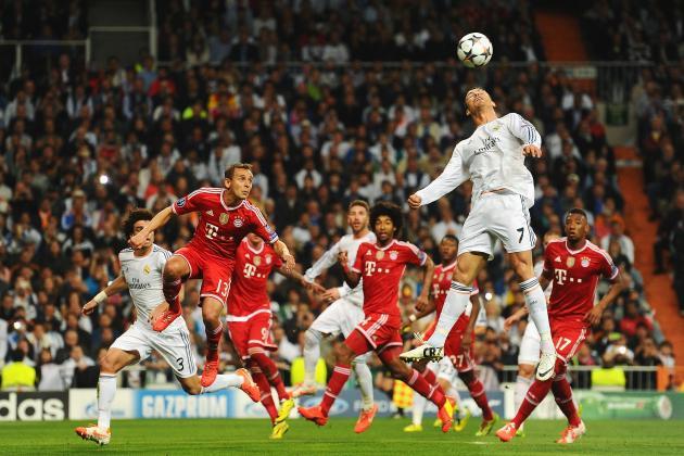 Choosing a Bayern Munich and Real Madrid Combined XI