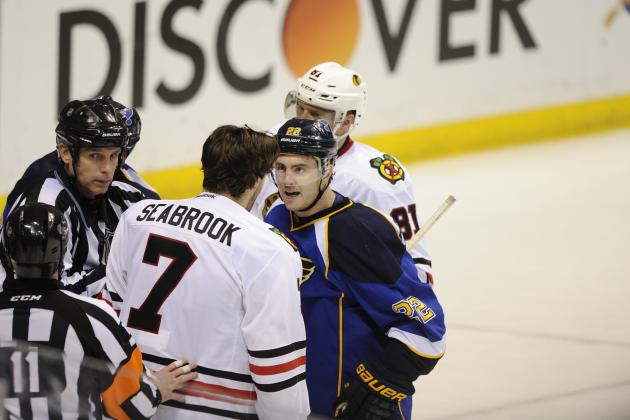 Ranking the Dirtiest Plays in the 1st Round of the 2014 NHL Playoffs